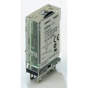 H3RN-1 24VAC, Zeitrelais - Multifunktion, sockelbar, G2R1S-Pinning, 1 W