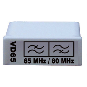 VD 65, Diplexfilter 5 - 65 MHz (Paar), zur Rückwegkonfiguration der Vario …-Verstärker
