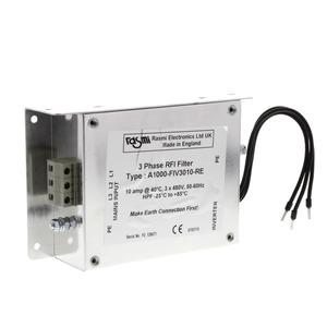 A1000-FIV3030-RE, RFI-Unterbaufilter V1000, 30 A, 400 VAC, 3-phasig, für 5,5 bis 7,5 kW-Antriebe
