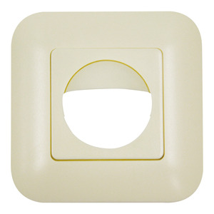 Rahmen IP20 Indoor 180 perlweiß matt, ähnlich 1013, Rahmen IP54 zur Kombination mit den Sensoreinsätzen für die automatischen Wandschalter Indoor 180