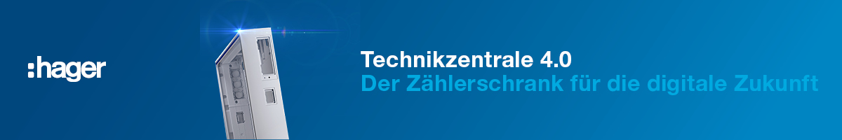 Hager - Technikzentrale 4.0