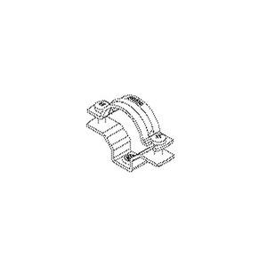 628/55, Rohrabstandschelle,Anschlussinnengwinde,  Pg 48, M63, Kabel-Ø 55-63 mm, Stahl, bandverzinkt DIN EN 10346