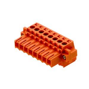 BL 3.50/02/180F SN OR BX, Leiterplattensteckverbinder, Flansch, 3.50 mm, Polzahl: 2, verzinnt, orange, Box