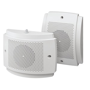 Design-Lautsprecher, 15/10 W, 100 V, weiß, mit Regler