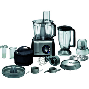 MK860FQ1, Küchenmaschine Foodproc. FQ.1 schwarz/Edelstahl