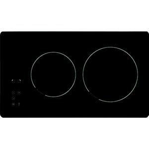 KMC 13281-3 C, Glaskeramikkochfeld, 30 cm., rahmenlos, Sensorsteuerung vorne, Digitalanzeige, 9 Leistungsstufen