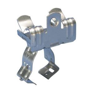 8EM24S1, EM-M Flanschklipp mit Kabelschutzrohr/Rohr Schelle, S301, 18–22 mm OD, 3–8 mm (1/8–1/4) Flansch