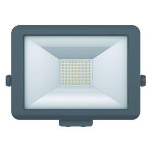 theLeda B50L BK, LED-Strahler für Wandmontage, 50 Watt, schwarz