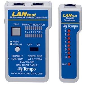 LANtest Kit, Verdrahtungstester für die Netzwerktechnik