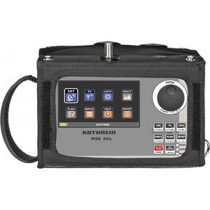 MSK 30/L, Messempfänger SAT/TV; Touch TFT-Farbdisplay 4,3''; MPEG-2/-4 Bilddarstellung; Spektrum-Darstellung; Pegelmessung analog/digital; BER/MER-Messung; ohne