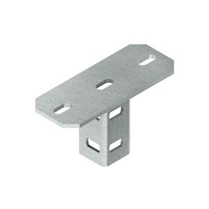 KU 6040, Schraubkopfplatte für U 6040 Profil, Stahl, feuerverzinkt DIN EN ISO 1461, inkl. Zubehör