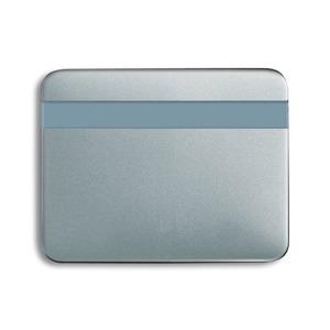 6815-266, Busch-Komfortschalter Bedienelement, titan, alpha, Bedienelemente für Bewegungsmelder/Komfortschalter
