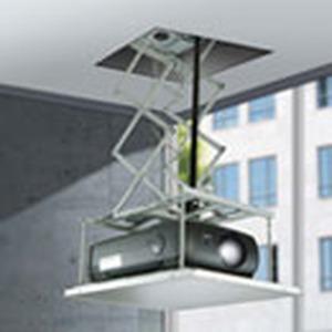Motorischer Deckenlift für Daten-Video-Projektoren.  Hublänge bis 120 cm, Hubkraft max. 50 kg, Projektorgröße max. 75 x 62 x 33 cm inkl. Anschlusskabe