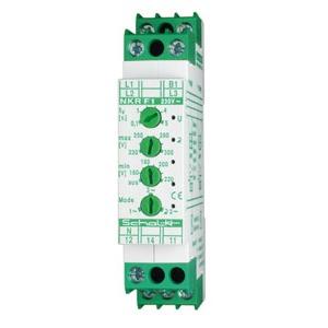NKR F1, Netz-Überwachungs-Relais U-Fenster  3x230/400V AC, 1 Wechsler