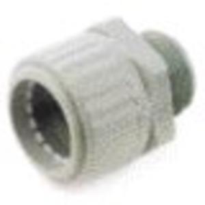 Kunststoff-Wellschlauch-Verschraubung