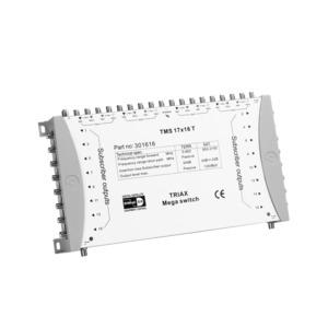 TMS 17x16 T, Einzelmultischalter TMS 17x16T, 17 Eingänge, 16 Ausgänge