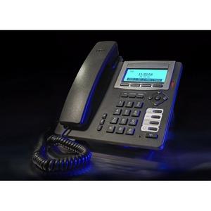 T 16 SIP schwarz, schnurgeb. SIP Telefon, Anschluss LAN