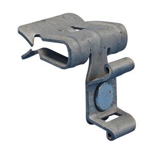 4H912CT, Flanschklipp zum Aufschlagen mit Kabelbinder-Halter, aussen, Federstahl, nVent CADDY Armour, 14–20 mm (9/16–3/4) Flansch