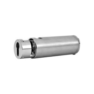 KT 64 PHZ Up, Kartentresor, für Wandeinbau, Länge 130 mm, für PHZ 10/30 mm, Edelstahl gebürstet