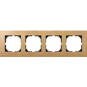 Holzrahmen, 4fach, Buche, M-PLAN