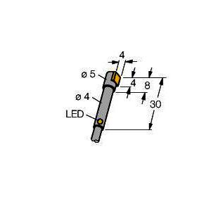 BI1-HS540-AP6X, Induktiver Sensor,