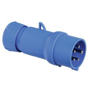 CEE Stecker, Schneidklemmen, 16A, 3p+N+E, 200-250 V AC, IP44