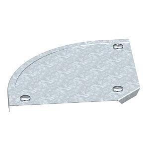 DFB 90 100 FS, Deckel Bogen 90° mit Drehriegeln, für RB 90 100 B100mm, St, FS