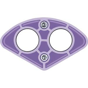 SEG 2/31, Das lila Segment Anwendungsbereich für 2 Kabel Ø 20 - 31 mm
