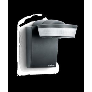 sensIQ KNX schwarz, Bewegungsmelder Passiv Infrarot, Aufputz, IP54, 300° Reichweite max: r = 20 m (1047 m²)