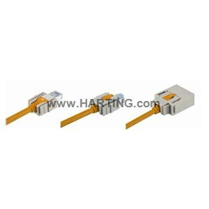 RJI cord 4x2AWG 26/7 overm. Cat5e, 0,7m