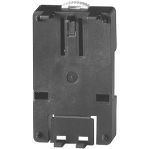 Hutschienenadapter, für 35 mm Hutschiene, Farbe schwarz