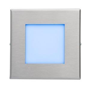 LED-Wandeinbaul.230V Edelst.,1,2W,LF:bl.