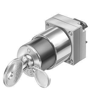 3SB3500-4LD21, Schlüsselschalter CES, 22mm, rund Schließnr. SSG10