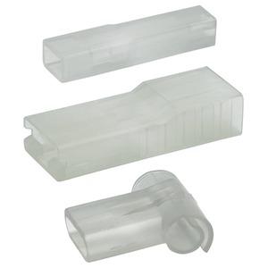 Isolierhülse für Flachsteckhülse 6,3 mm, 0,5-2,5 mm²
