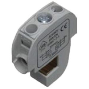 SS Anschlussklemme grau 16 CU bis 12x10mm