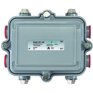 Abzweiger, 1-fach, 8 dB, 5-1006 MHz, 5/8 Zoll-Anschlüsse, IP55, Richtkoppler
