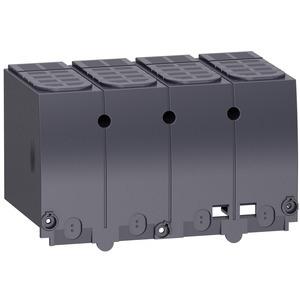 Klemmenschutz- 4P - parallele Ausgangskupplung - für NSX100-250DC