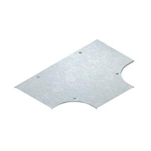 RTSDV 200 F, Deckel für T-Stück für KR, Breite 204 mm, mit Drehriegel, Stahl, feuerverzinkt DIN EN ISO 1461