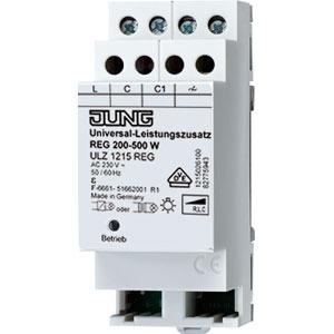 ULZ 1215 REG, Leistungszusatz Universal, REG, Nennspannung: AC 230 V ~, 50/60 Hz, 2 TE