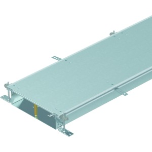 OKA-W20010050R, Kanaleinheit estrichbündig blind, rastend 2400x200x100, St, FS, Preis per Stück, L=2,4m