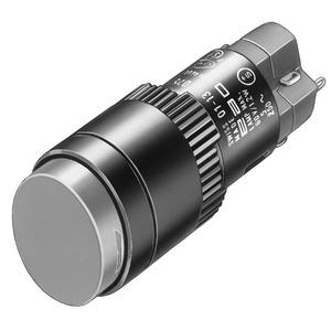 Leuchtdrucktaste I SP 1Ö+1S D18 L/S Au/Ag