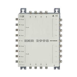 EXR 2998 Multischalter Durchgang 9 auf 8, EXR 2998 Multischalter Durchgang 9 auf 8