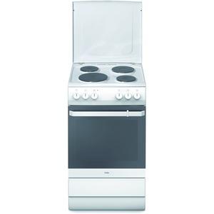 SHE 11545 W, Standherd 50 cm, weiß, K4, EEK A- 20%, Kochmulde weiß emailliert