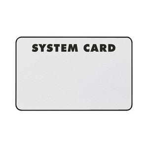 8000CARD, Transponderkarte, weiß, zur berührungslosen Bedienung des Systems 8000