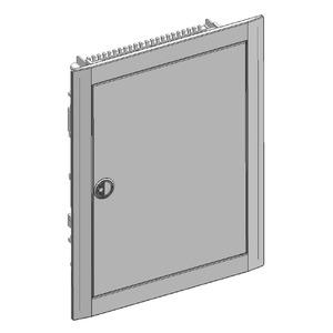 BL516C, Blendrahmen mit Tür RAL7016 für UK500