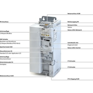 I55AE275F10010000S, Inverter i550-C7.5/400-3