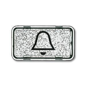 2622 KI-101, Tastersymbol, glasklar, Unterputz wassergeschützt, Sondersteckvorrichtungen, Abdeckungen für Schalter/Taster