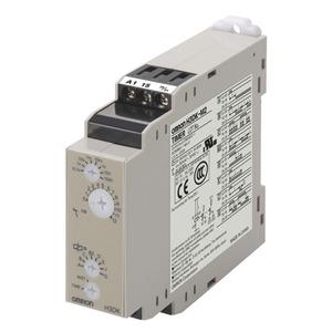 H3DK-M2A DC12, 8 Zeitfunktionen, 0,1s..1200h, 2 W (1 W + 1 Sofortkontakt) 5A, Starteingang 5 A, 12 VDC