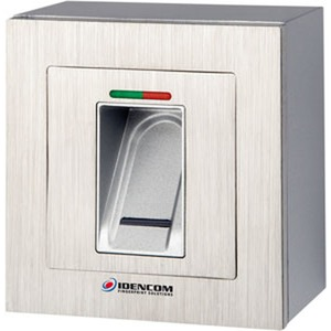BioKey Gate + Infrarot-Keypad New Line AP/UP metallsilber