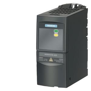 6SE6420-2UD13-7AA1, Micromaster, IP20 / UL open type, FSA, 3 AC 380-480 V, 0,37 kW